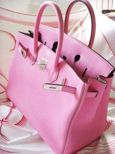 Hermes Handbags Birkin Bag Pink Bags Designer