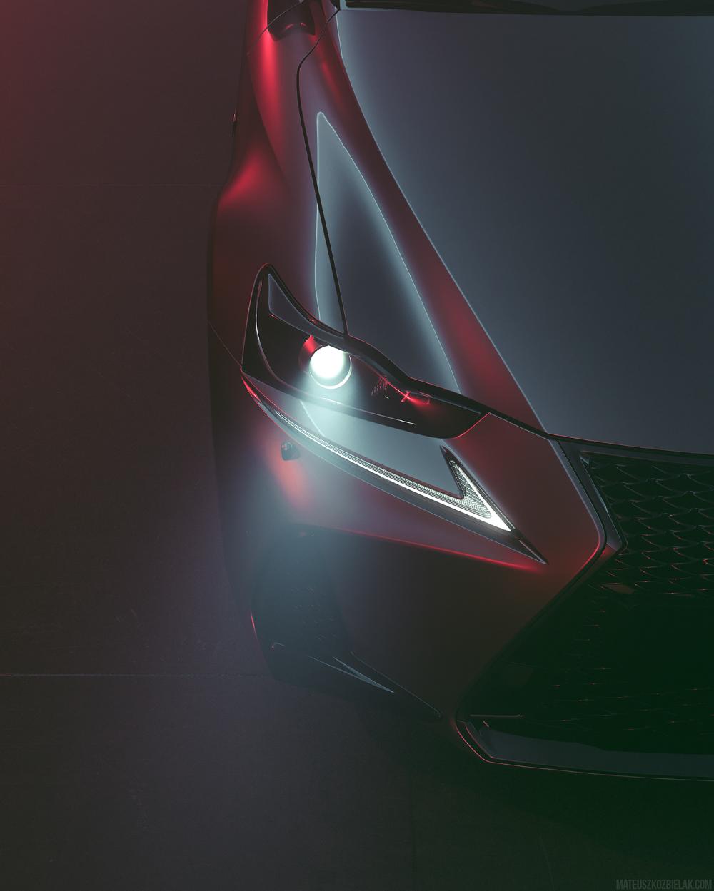 Lexus Is300 On Behance Lexus Is300 Lexus Automotive Photography