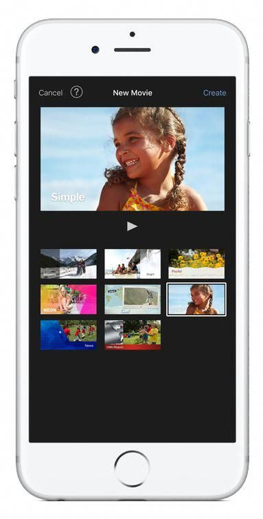 Using iMovie on iPhone iphonehacks