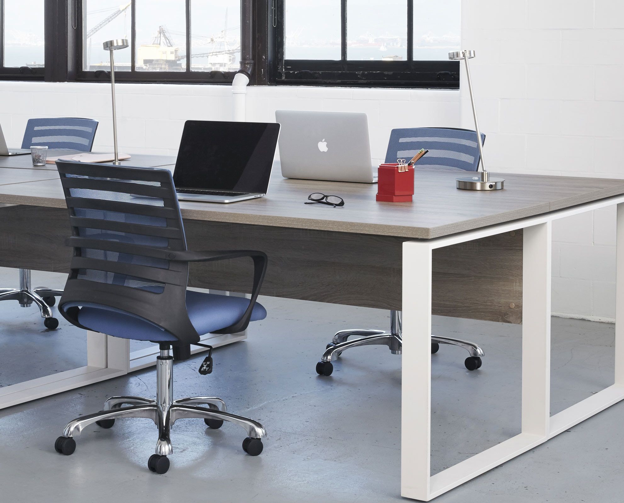 Add A Pop Of Color To Your Office Setting With The Barrier Desk Chair From  Scandinavian Designs. The Mesh Backrest Provides Breathability, ...