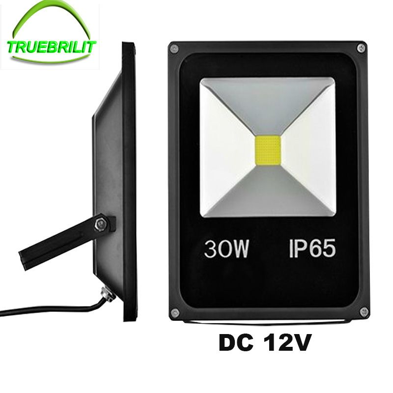 Led Dc 12v Floodlights Garden Lights Flood Lamps 10w 20w 30w 50w Outdoor Ip65 Waterproof Yard Lighting Affiliate Led Flood Lights Led Flood Flood Lights