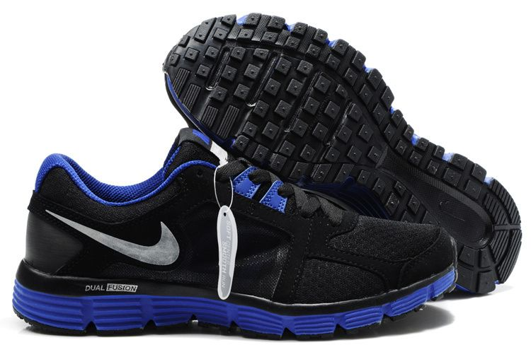4bf759268662c Shopping Online Nike Dual Fusion ST 2 Mens Shoes For Sale Black Blue ...