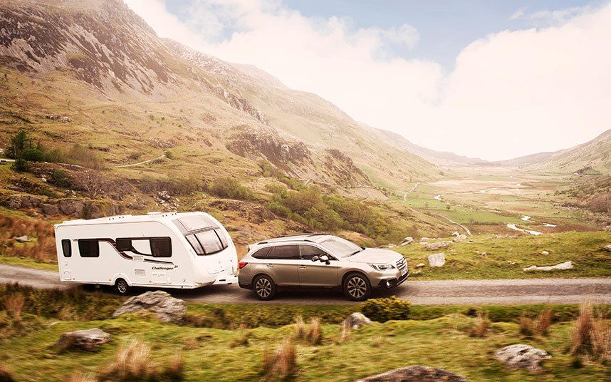 Ben Collins: Subaru Outback test drive and review | Camping ...