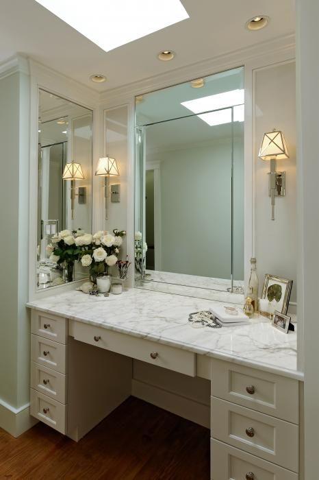 Cream Vanity, Traditional, bathroom, Thorsen Construction | Bathroom ...
