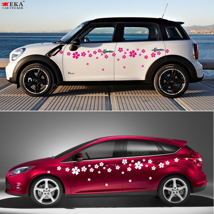 Decals For Your Car Beautiful Flower Full Body Car Decal Sticker - Car sticker designdistributors of discount car stickers designsm car