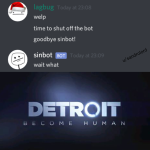 Discord Bot Meme - WICOMAIL