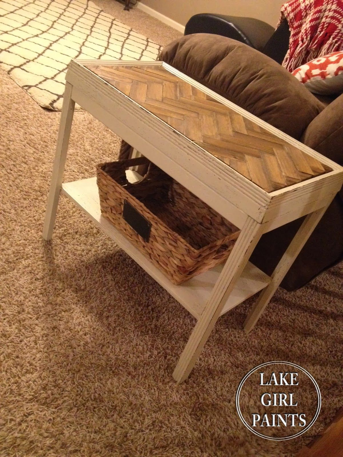 Deb was itching to try one of the latest trends in furniture design: wood tone chevron. Description from roadkillrescue.net. I searched for this on bing.com/images