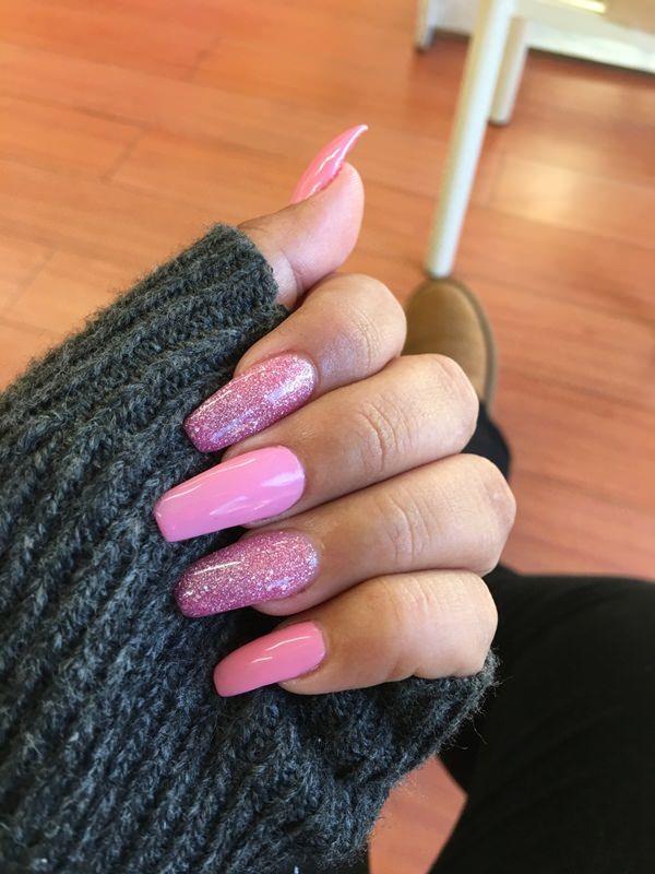 60 Cute Acrylic Nails Designs for Summer 2018   Springboard, Nail ...