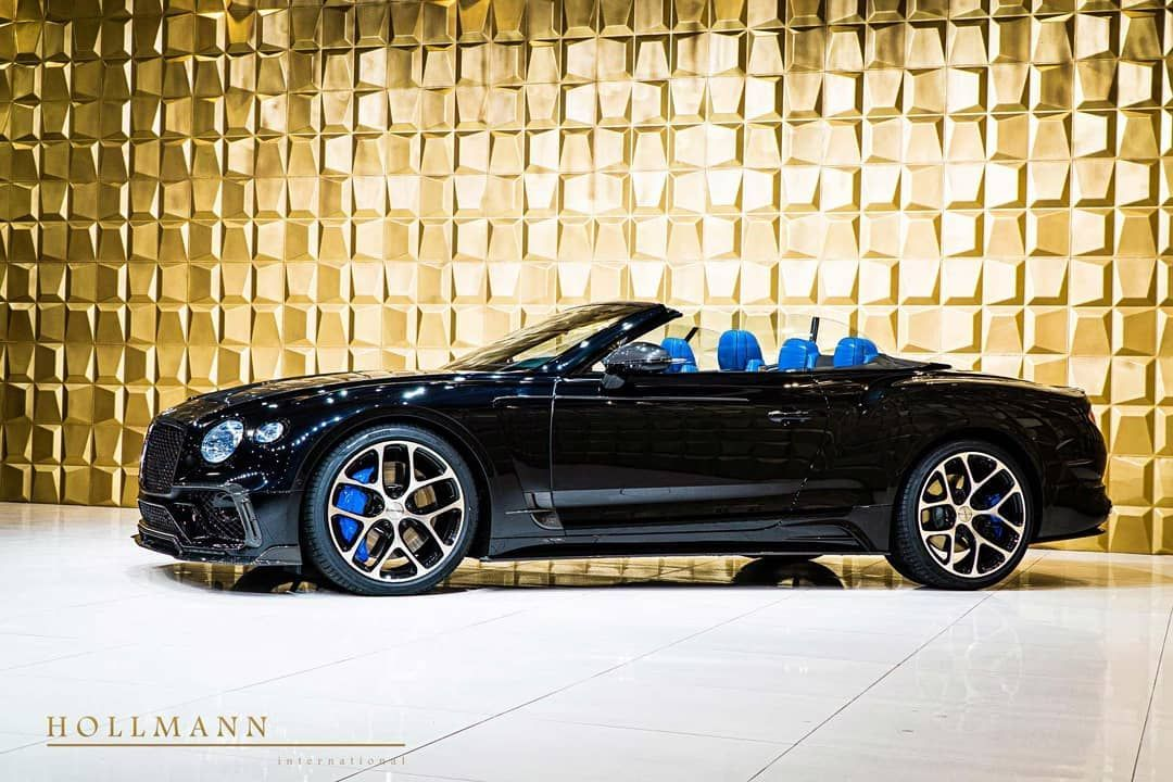 Hollmann International On Instagram Bentley Continental Gtc First Edition By Mansory Color Onyx U In 2020 Bentley Continental Luxury Cars For Sale Bentley