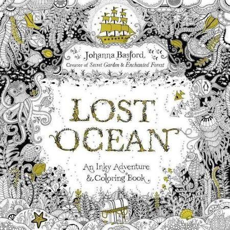 Lost Ocean: An Underwater Adventure & Coloring Book - Walmart.com ...