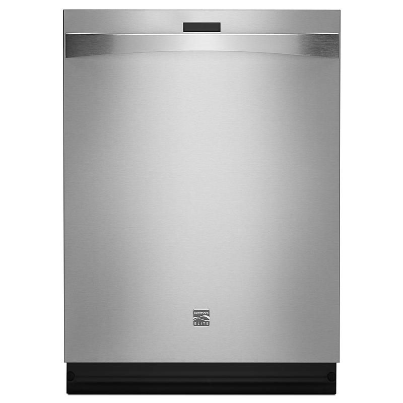 """Kenmore Elite - 12783 - 24"""" Built-In Dishwasher - Stainless Steel 