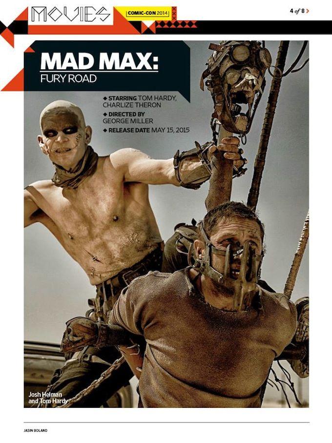 Movie fury road mad max