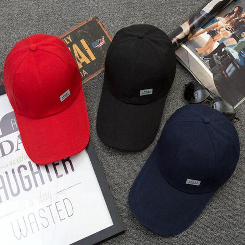 25a6e844 New Stylish Punk Solid Cotton Snapback Caps Hip Hop Cap For Women Men  Casquette 3 Colors Gorra Gifts Baseball Cap Hats #Affiliate