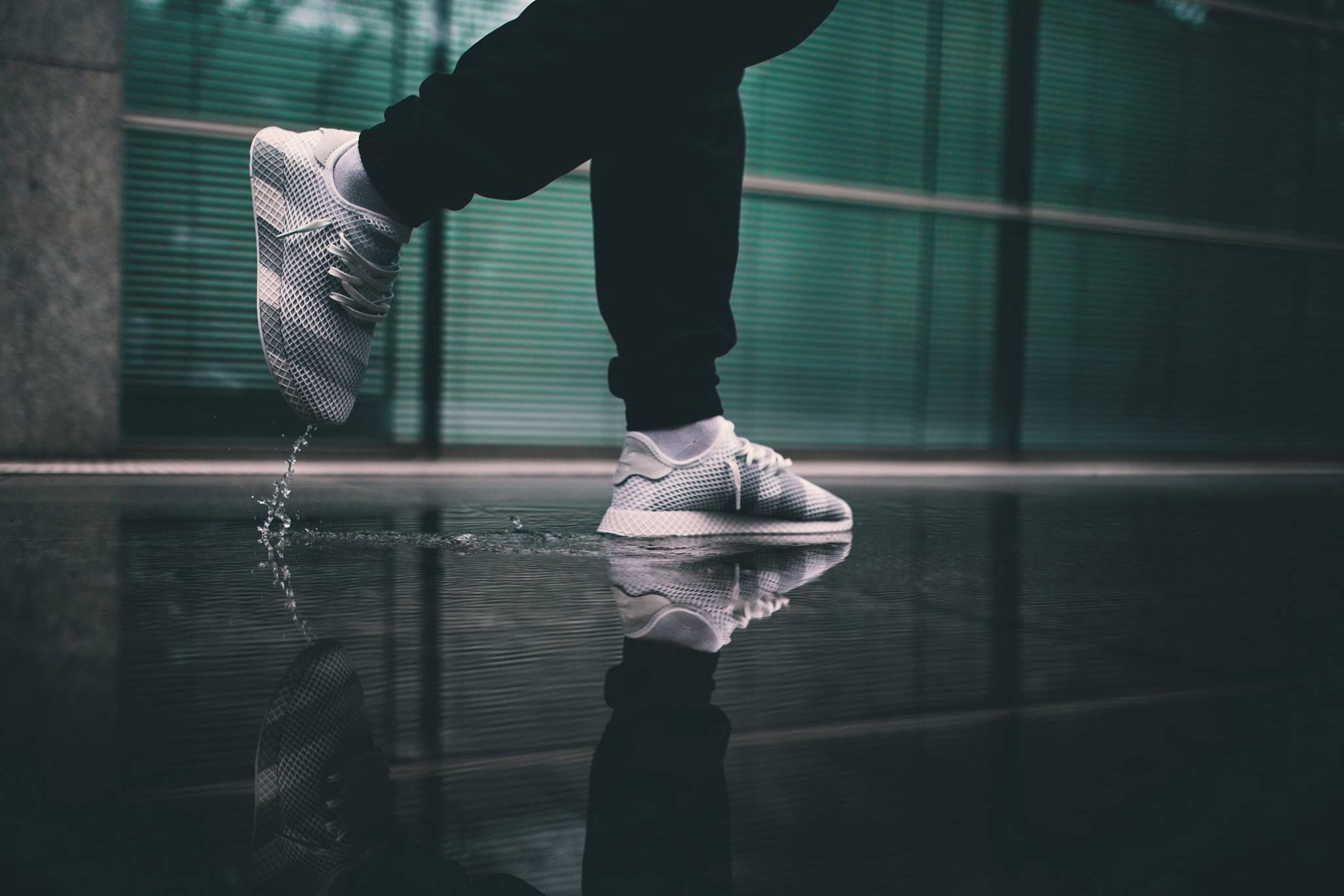 adidas Consortium Deerupt White/Grey | Sneakers | Adidas ...