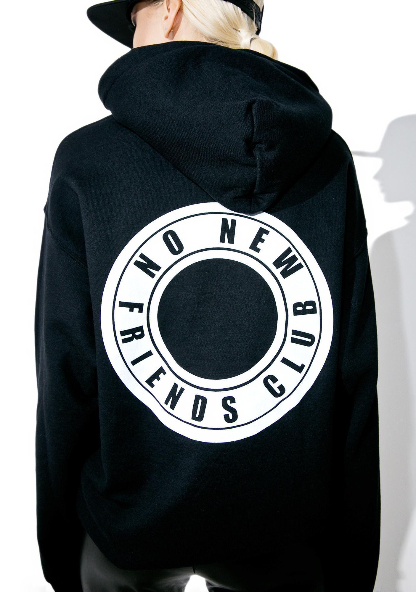 Friends Club Hoodie Hoodies Sweatshirts Graphic Hoodies [ 2000 x 1405 Pixel ]