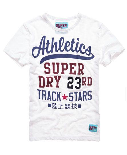 Superdry Campus tee Camisa para Hombre
