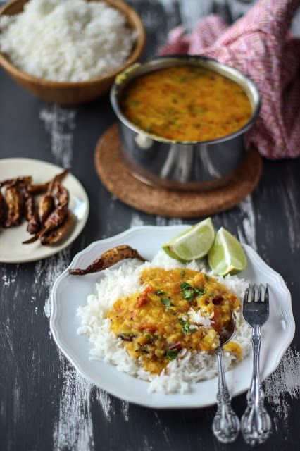 The Tales Of My Cooking: Simple Tomato Dal