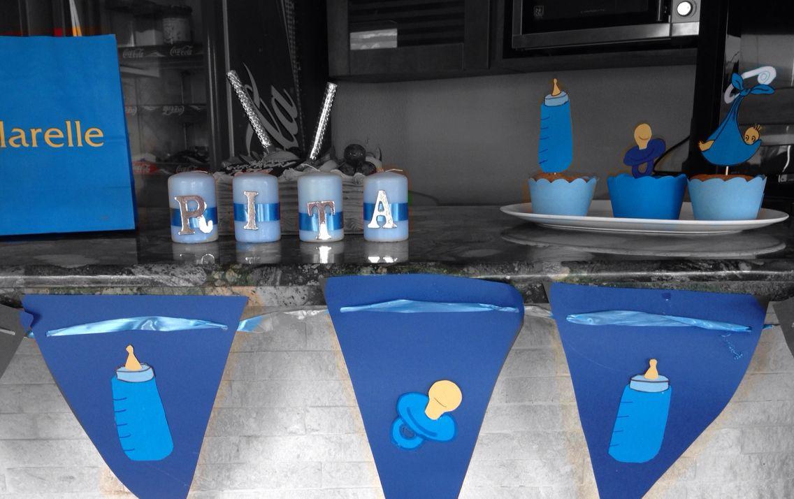 Welcome Baby Boy Idea Blue Decoration Theme Crafts Idea