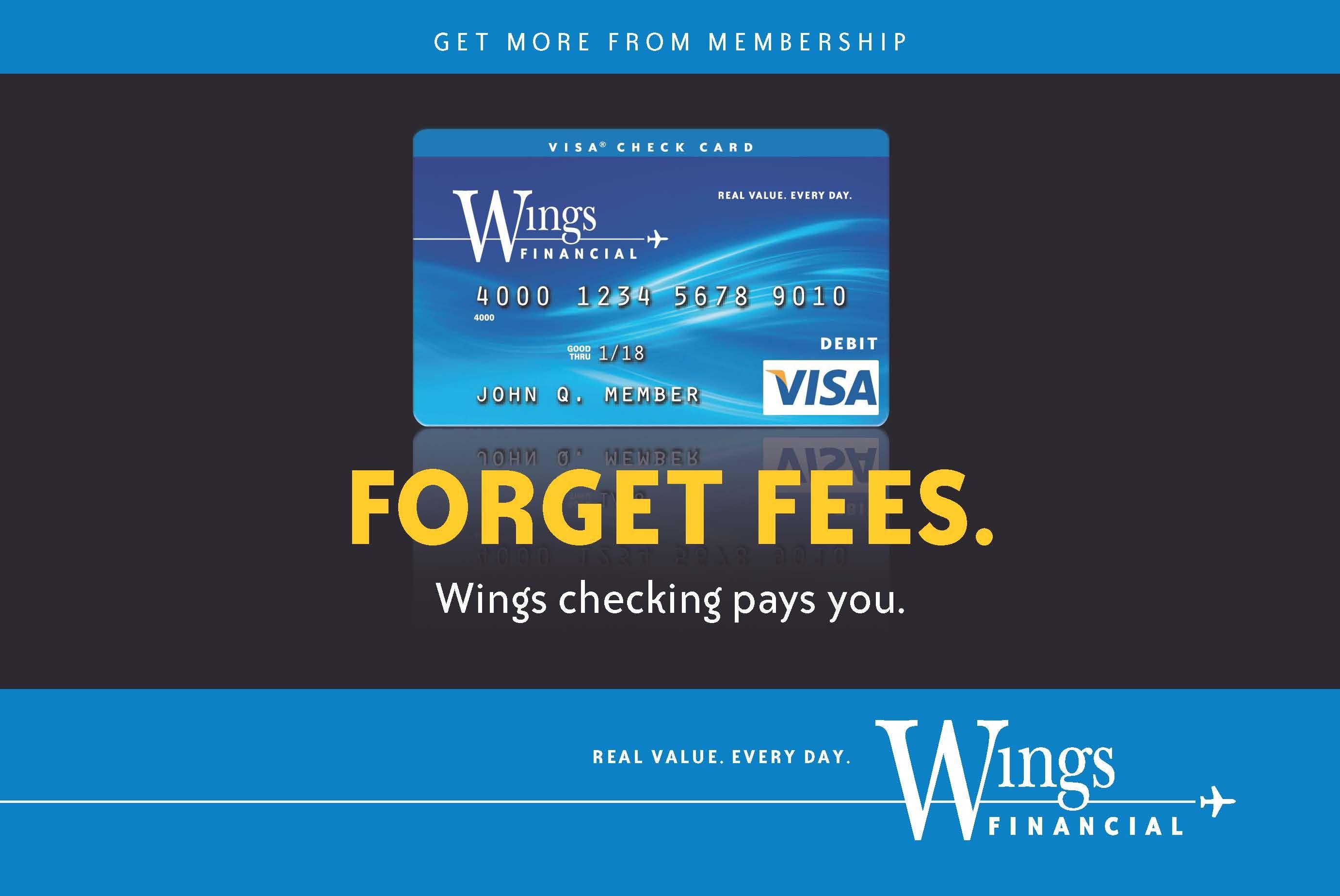 Free, cashback checking. AlwaysFree No Fee Debit