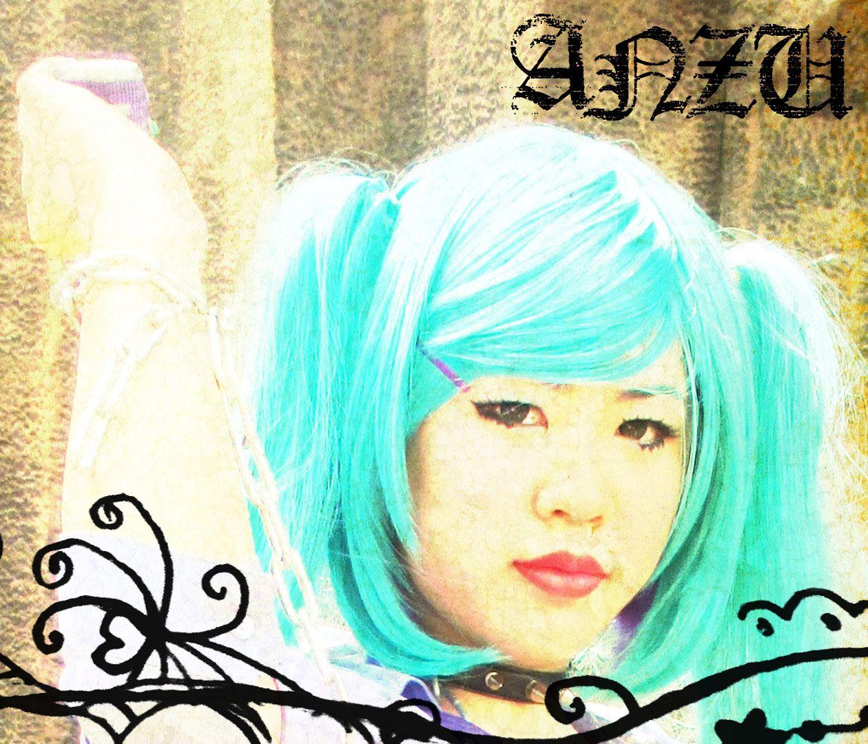 Hatsune miku cosplay. Photo by me