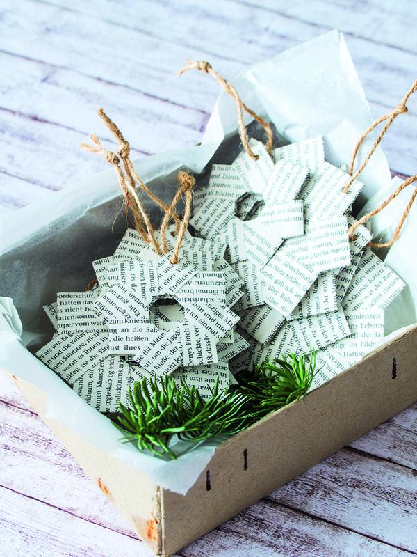 DIY Adventskalender und Geschenkanhänger – Gartenzauber