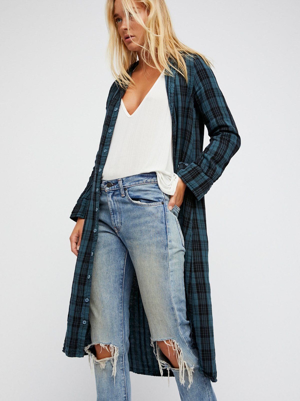 Doublecloth plaid maxi musthave maxi dress featuring an