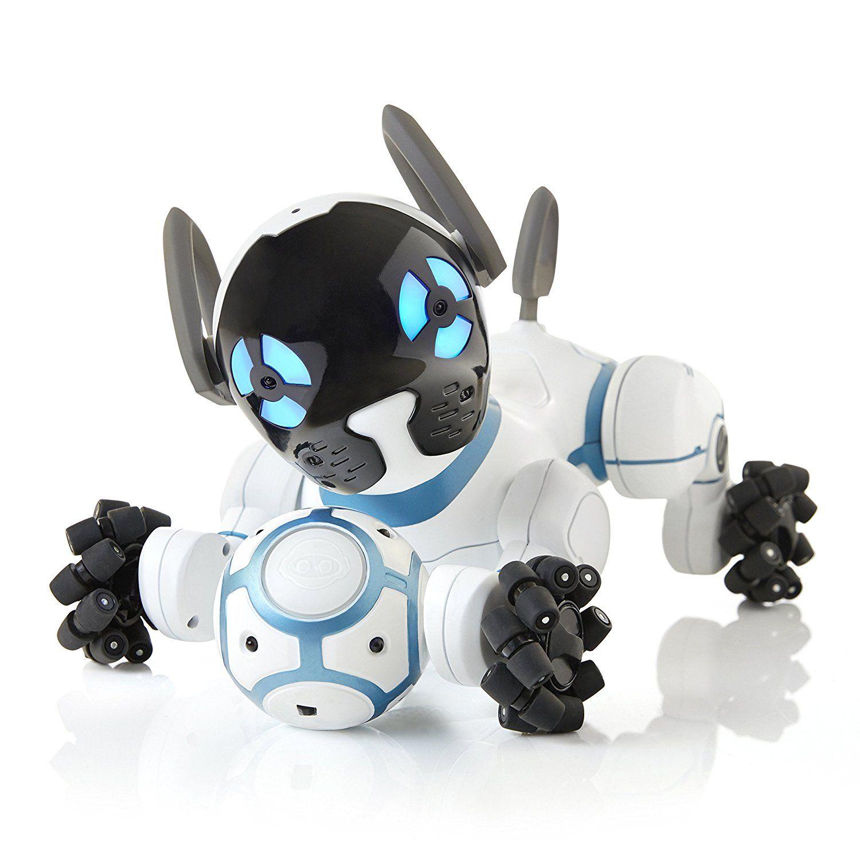 Der Spielzeugtester Hat Sich Das Wowwee 0805 Chip Der Ultimative Roboter Hund Angesehen Und Kann Dir Das Prod Hundespielzeug Kinder Tiere Kinder Spielzeug