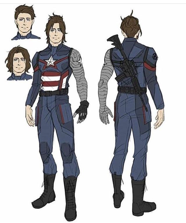 Bucky As The Next Captain America