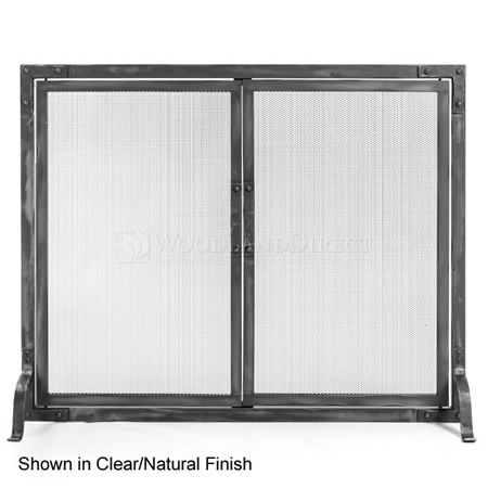 Stronghold Fireplace Screen with Doors | WoodlandDirect.com: Fireplace Screens, Heritage #LearnShopEnjoy