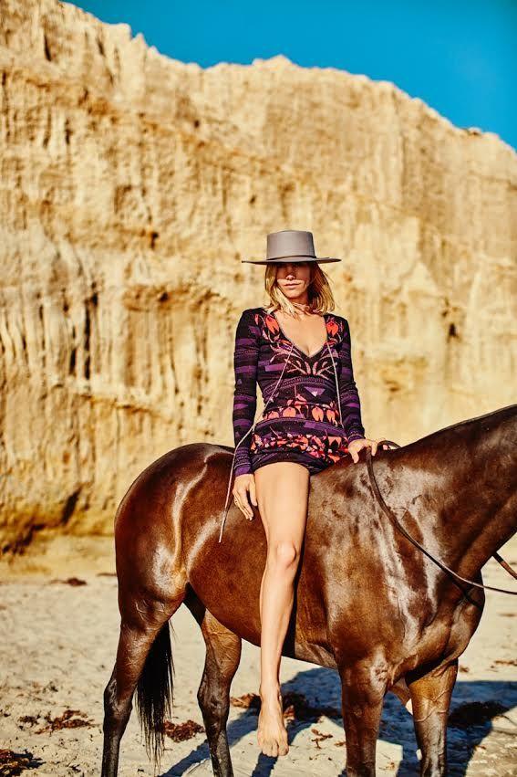 Rachel Zoe: Delfina Blaquier en Rachel Zoe Resort 2016 en Santa Barbara Revista