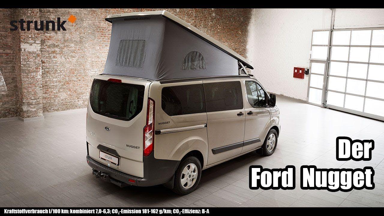 Das Ford Westfalia Nugget Wohnmobil Von Auto Strunk Ford