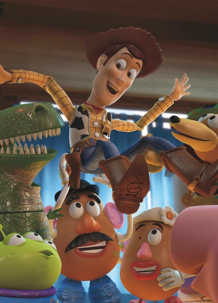 Alien . Potato Head Woody & Hamm Toy Story 1995 1999