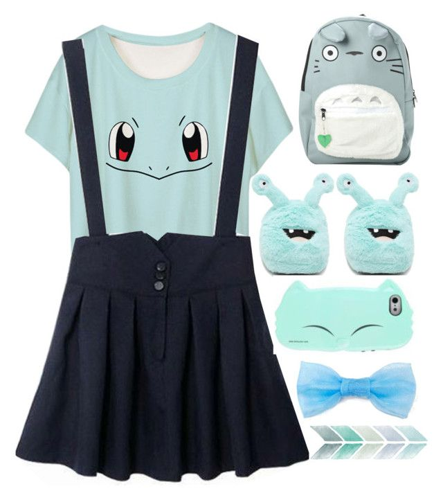 """""""09"""" by tracinho ❤ liked on Polyvore featuring Forever 21 and Ghibli"""