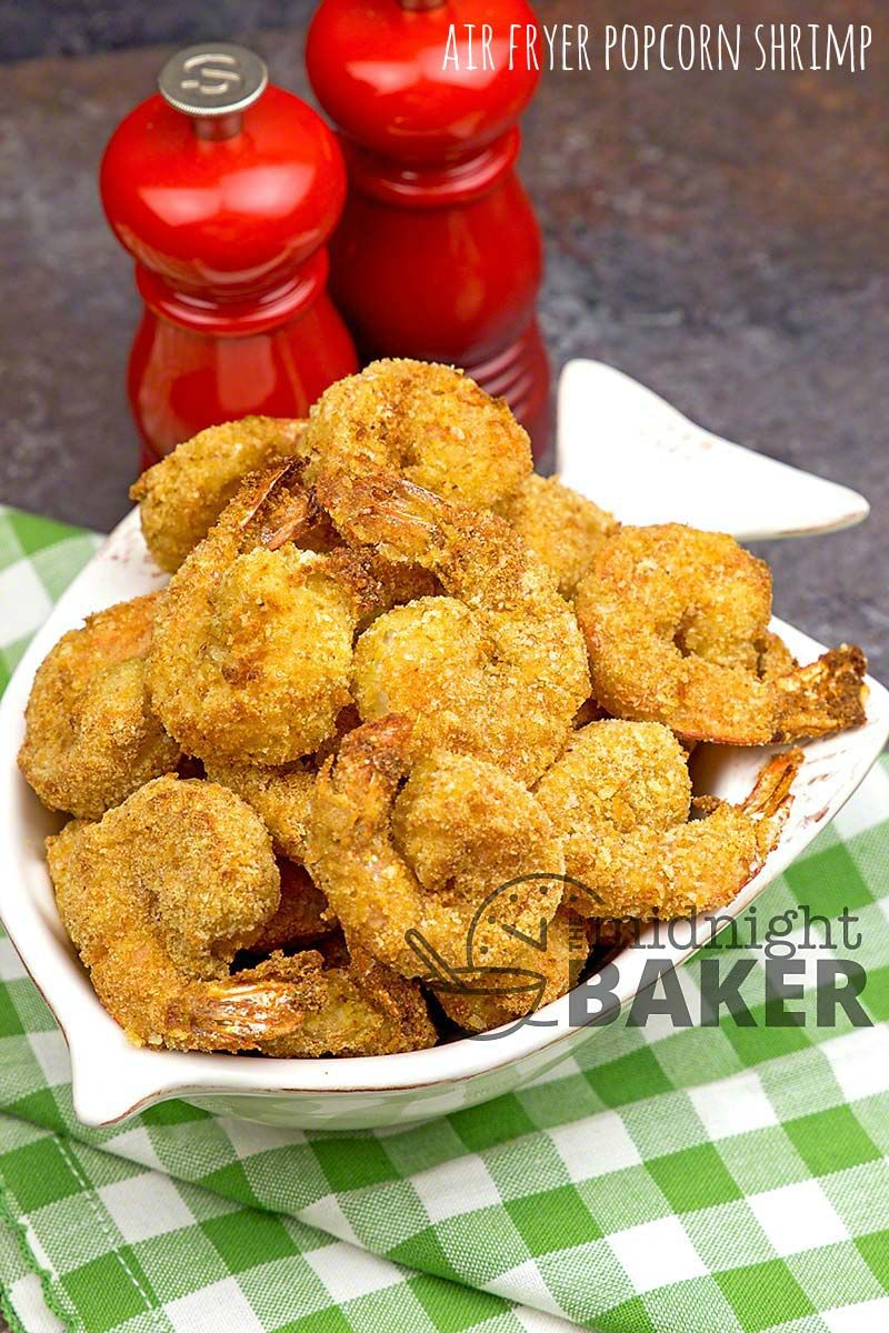 Air Fryer Popcorn Shrimp in 2020 Popcorn shrimp, Air