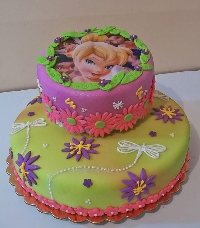 Tinkerbell Cake | fiesta de hadas | Pinterest | Campanilla, Tartas ...