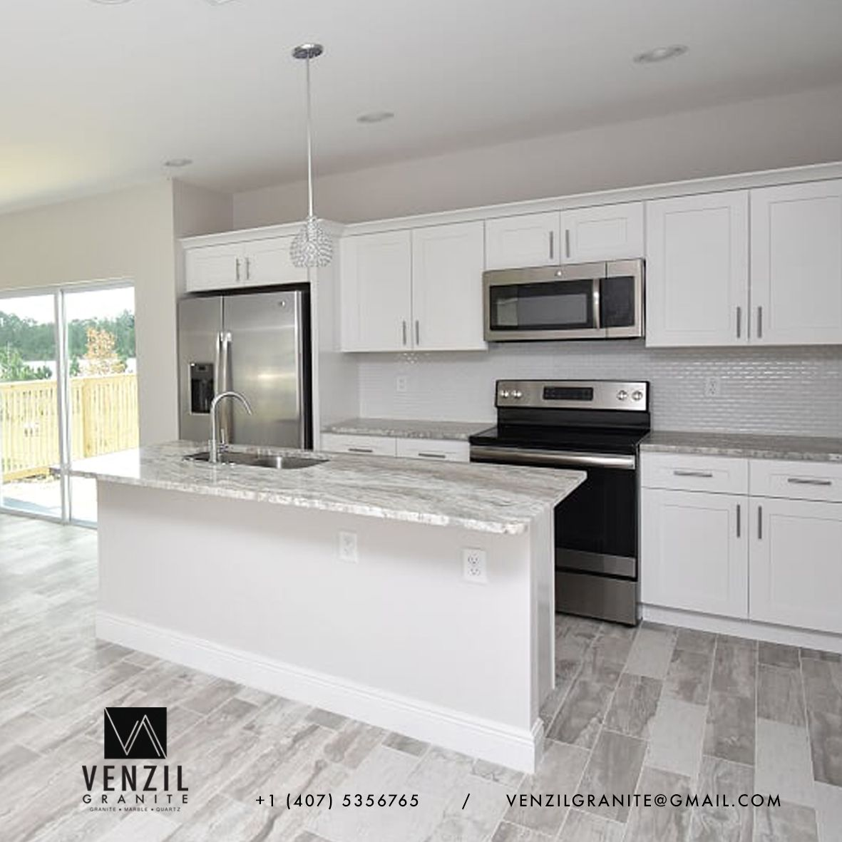 The Best Quality Countertops And Cabinets For Your Dreamkitchen Contact Us For An Estimate 1 407 5356765 Venzilgranit Countertops Dream Kitchen Kitchen