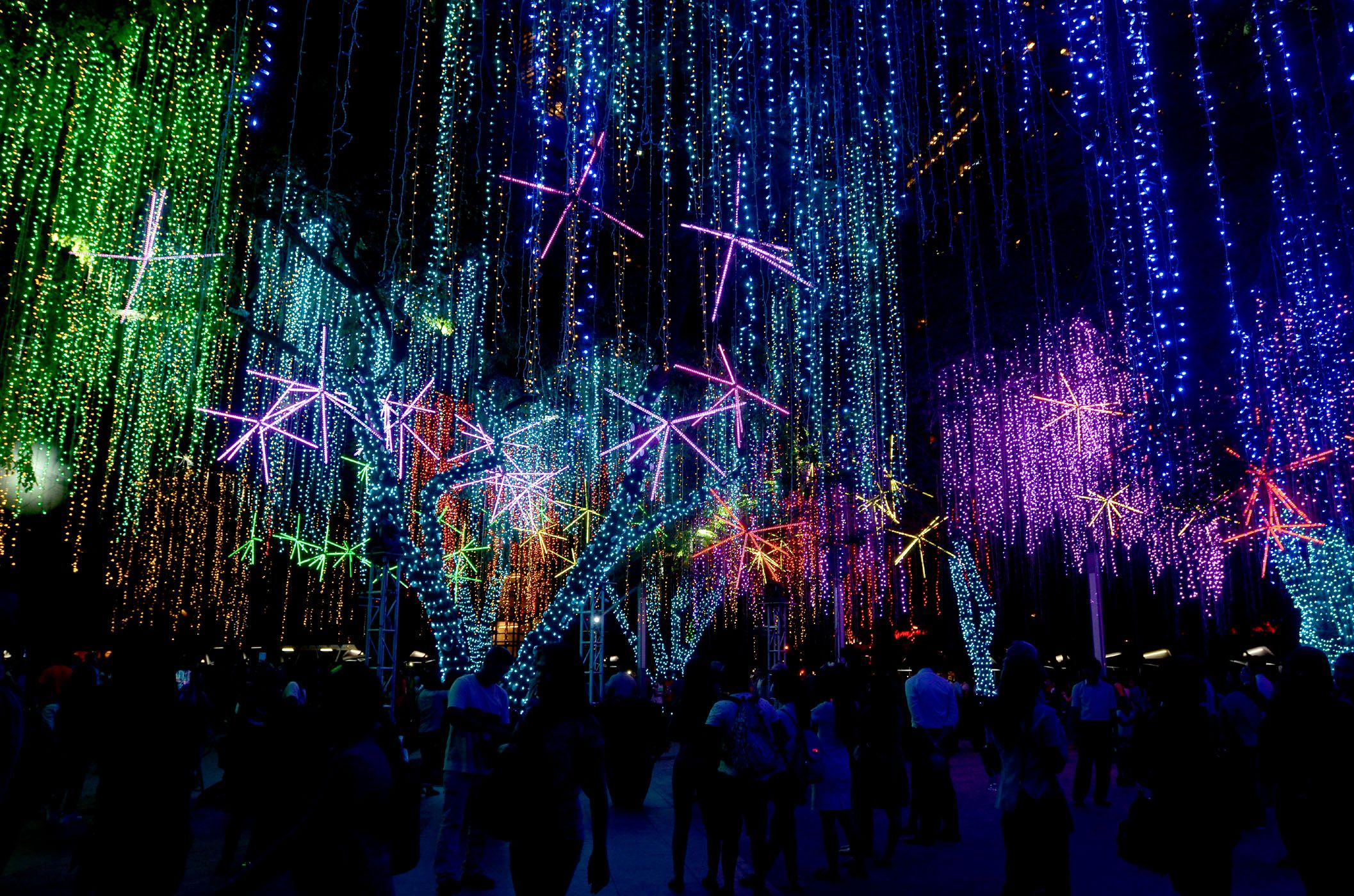 Ayala Triangle Gardens Lights & Sounds Show Schedule