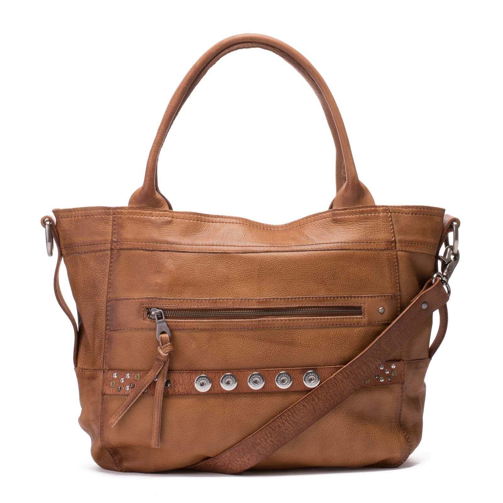 502fbcaf763 NOOSA Amsterdam Original Bag Classic Mid Brown Shopper BCS-3003-02 ...