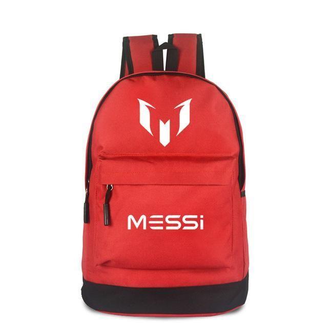 f58acec1cbe4 FVIP Teenagers School Bags for Boys Messi Teen bookbag Backpack Men  Backpack Kids Gift Bagpack
