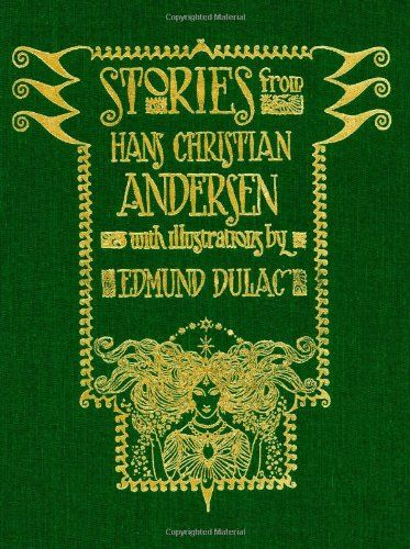 Image result for short stories by hans christian andersen green cover