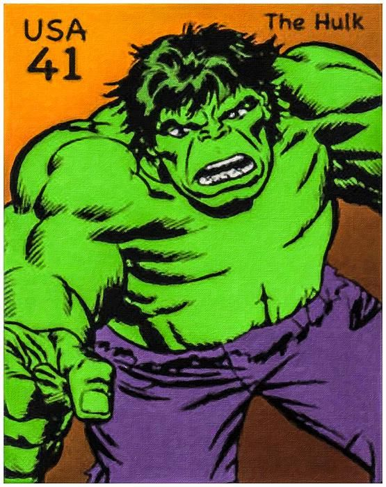New print available on lanjee-chee.artistwebsites.com! - 'The Hulk' by Lanjee Chee - http://lanjee-chee.artistwebsites.com/featured/the-hulk-lanjee-chee.html