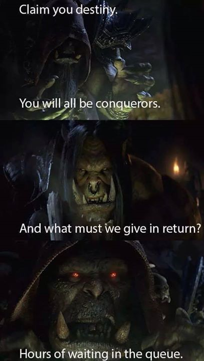 Warlords Of Draenor Release Fail World Of Warcraft Pinterest