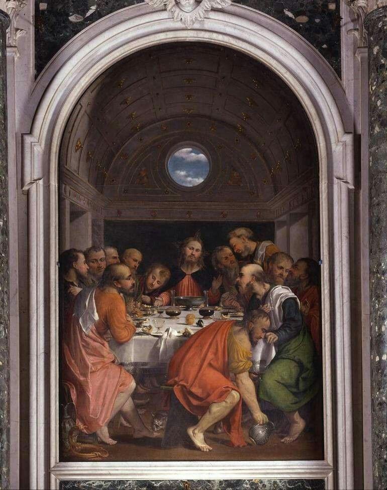 Ultima Cena. Montichiari. 1535.
