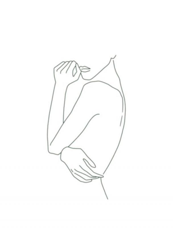 Women Sstyle Women S Style Minimalist Line Art Drawings Line Art Outline Art