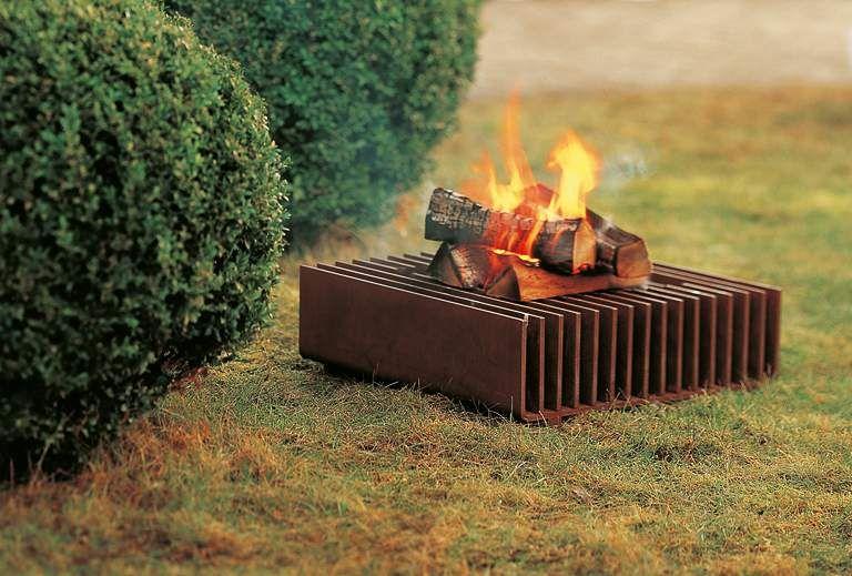 Corten Stahl Feuerstelle Fireplace Pinterest Gusto, Driveways