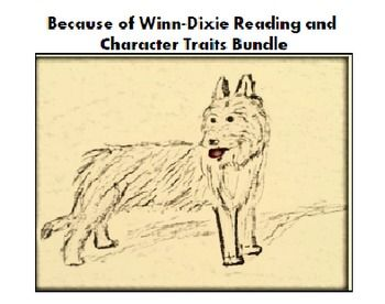 Because of WinnDixie Reading and Character Study Bundle