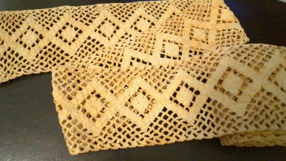 Vintage Lace/Crochet Trim by AmyFindsEverything on Etsy