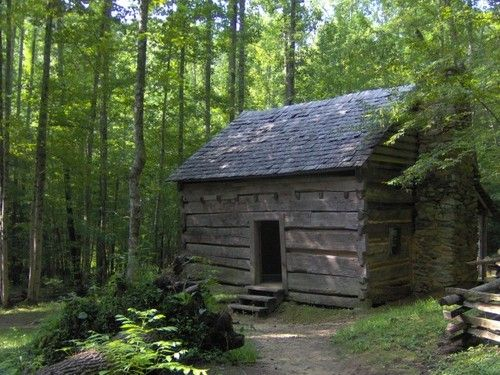 John Ownby Homestead Cabin Smokey Mountains Tennessee