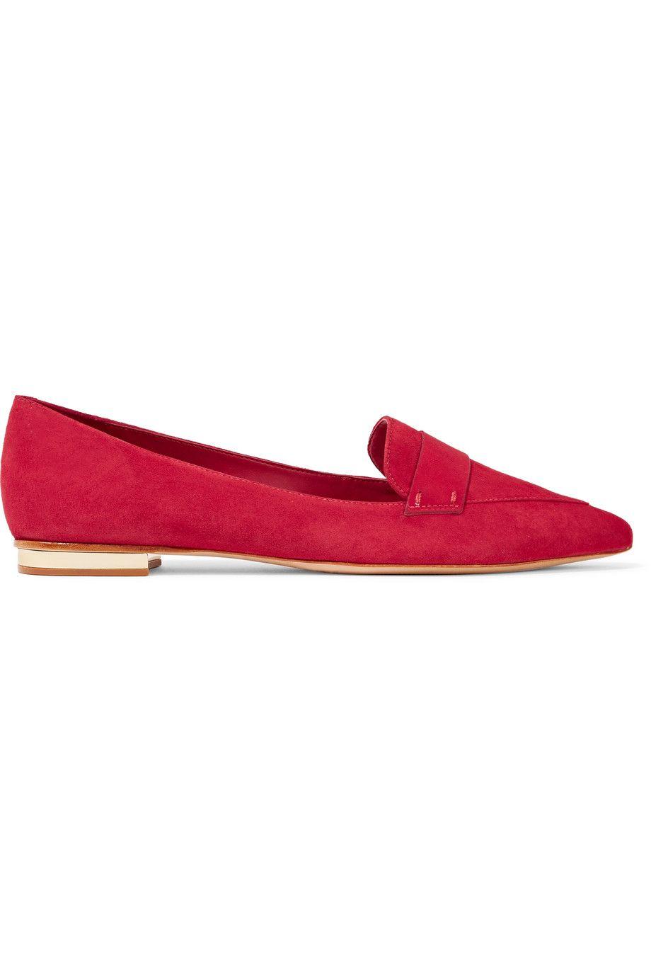 bd801fd70 SCHUTZ Elise Suede Loafers. #schutz #shoes #flats | Schutz