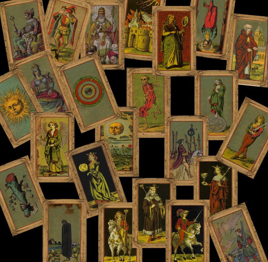 Pin on awesome tarot cards